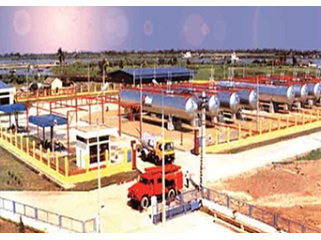 Fabrication & installation of tanks & pumping system